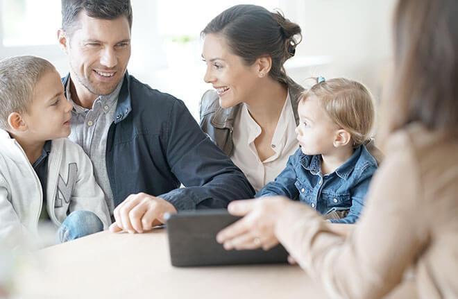 Beratung Familie - Brochier Badplaner